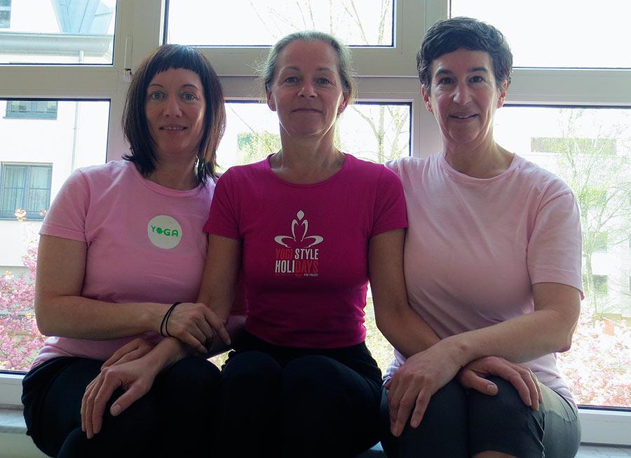Yoga-Lehrerinnen